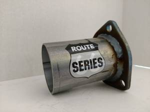 BlackTie Exhaust and Stainless Steel Tips - Route Series Header Collector