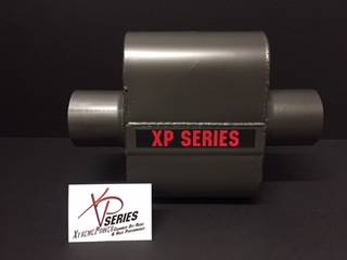 "XtremePower Chamber Highway and Street Performance - XP100 Series- 4"" X 9"" X 6.50"" BODY 3""ID CENTER/CENTER 13""OAL  #XP428"