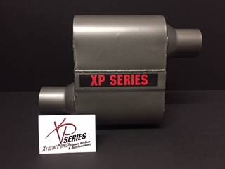 "XtremePower Chamber Highway and Street Performance - XP100 Series- 4"" X 9"" X 6.50"" BODY 2.25""ID CENTER/CENTER 13""OAL  #XP430"