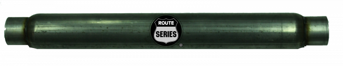 "Route Series Glass Packs-3""id in 3""id out 4"" round 30"" body 35"" overall #RS-4330S"