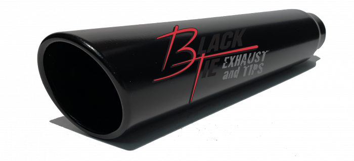 BlackTie Exhaust and Stainless Steel Tips - BlackTie Tip 4616ACK
