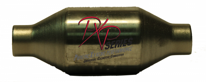 "PXP Series Universal Catalytic Converters - Catalytic Converter High Flow 2""id X 4""round X 11"" long  410200"