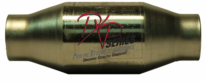 """PXP Series Universal Catalytic Converters - Catalytic Converter 2.50""""id X 4""""round X 11"""" long metallic substrate 415250"""