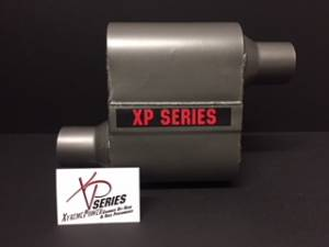 "Mufflers - XtremePower Chamber  - XtremePower Chamber Highway and Street Performance - XP100 Series- 4"" X 9"" X 6.50"" BODY 2.25""ID CENTER/CENTER 13""OAL  #XP430"