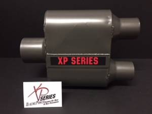 "XtremePower Chamber Highway and Street Performance - XP100 Series- 4"" X 9"" X 6.50"" BODY 2.50""ID INLET 2.25""ID DUAL OUT 13""OAL  #XP425 - Image 2"