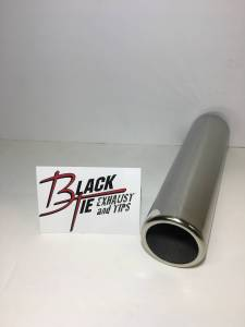 Tips - BlackTie Exhaust and Tips - BlackTie Exhaust and Stainless Steel Tips - BlackTie Tip 250SS9-PT