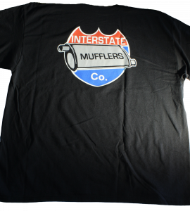 Interstate Mufflers Logo T-shirt - Image 1
