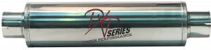 "Mufflers - ProlineXtreme Truck Performance - PXP Series Truck Performance - PXP truck series-7""Round, 24""Body, 30""OAL 4""ID Center/Center #PXPT7195"