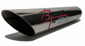 Tips - BlackTie Exhaust and Tips - BlackTie Exhaust and Stainless Steel Tips - BlackTie Tip 318-212SS